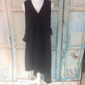 Adrianna Papell drape front dress
